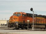 BNSF 6892 Leading An Ethanol Train Through Santa Fe Junction