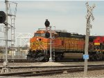 BNSF 5351 Leading A Train At Santa Fe Junction