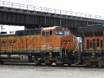 BNSF 610 Trailing On A BNSF 737 Train Through Santa Fe Junction