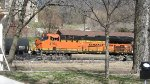 BNSF 3764 Trailing On A Mixed Freight At Parkville