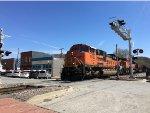 BNSF 9083 Leading An NRG Coal Train At Parkville