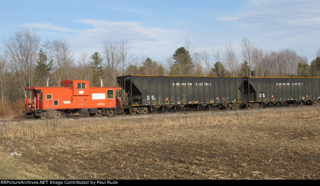 NECR 500 with a Caboose