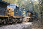 CSX ES40DC 5355 and AC44CW 437