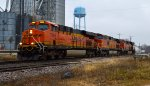 BNSF 7263, 5016, and 7025