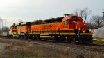 BNSF 1565 and 2748