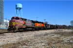 BNSF 555 and 2576