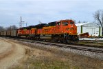 BNSF 9134 and 9258
