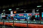 Indian Railways Passenger car at station
