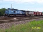 NS 8381 & BNSF 773