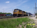 UP 3955, CSX 7556, & CSX 7810