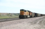 BNSF 8839 is DPU on parked eastbound