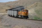 BNSF 8896 is on a PNJX coal train