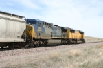 CSX 306 is on loan to the UP