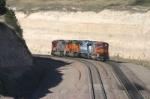 BNSF 8217 ducks into the massive cut