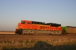 BNSF 9377 from the sunroof