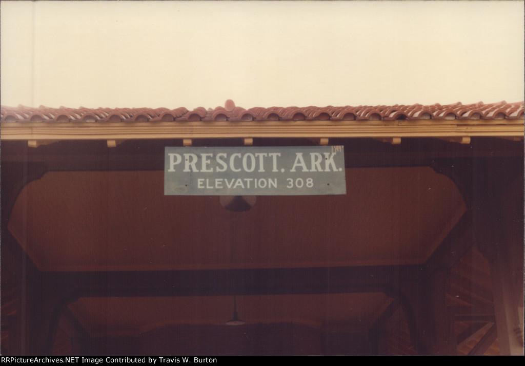 MP Station Sign