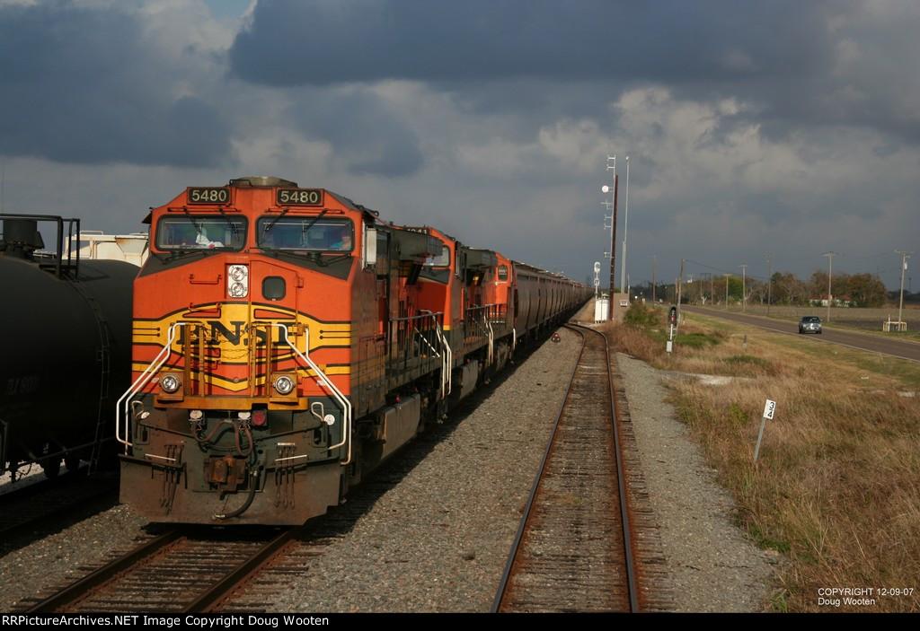 BNSF Loaded Grain Train