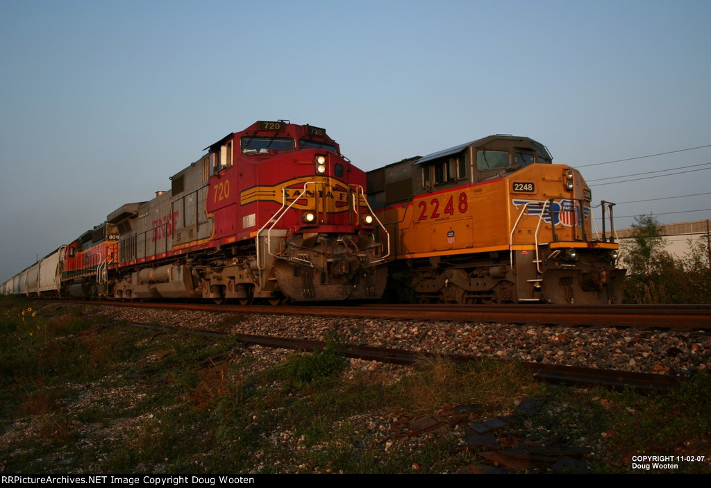 UP and BNSF