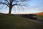 NS 7608 leads 68X south through Whitfield County