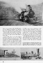 """Trains"" Centennial Issue, Page 20, 1946"