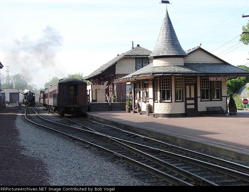 Reading Company passenger station