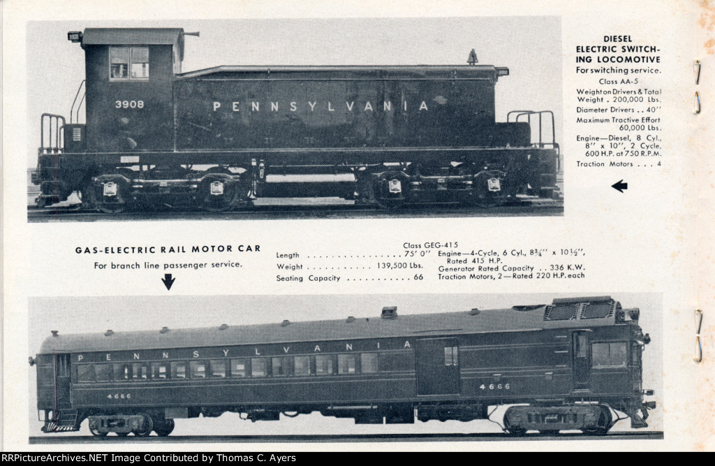 """Modern Locomotives and Cars 1939,"" Page 15"