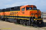 BNSF 155 now a upgraded GP60M-3 at March Field, CA. 5/6/2018