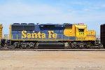 BNSF 175 (GP60) ex ATSF 8716 Perris CA. 7/17/2018