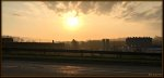Sunrise over A. Schulman's.