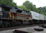 NS (Norfolk Southern) Delaware Lackawanna & Western Heritage Unit EMD SD70ACe Locomotive