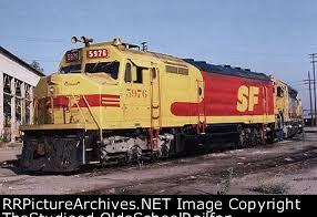 Greatest ATSF SDF45
