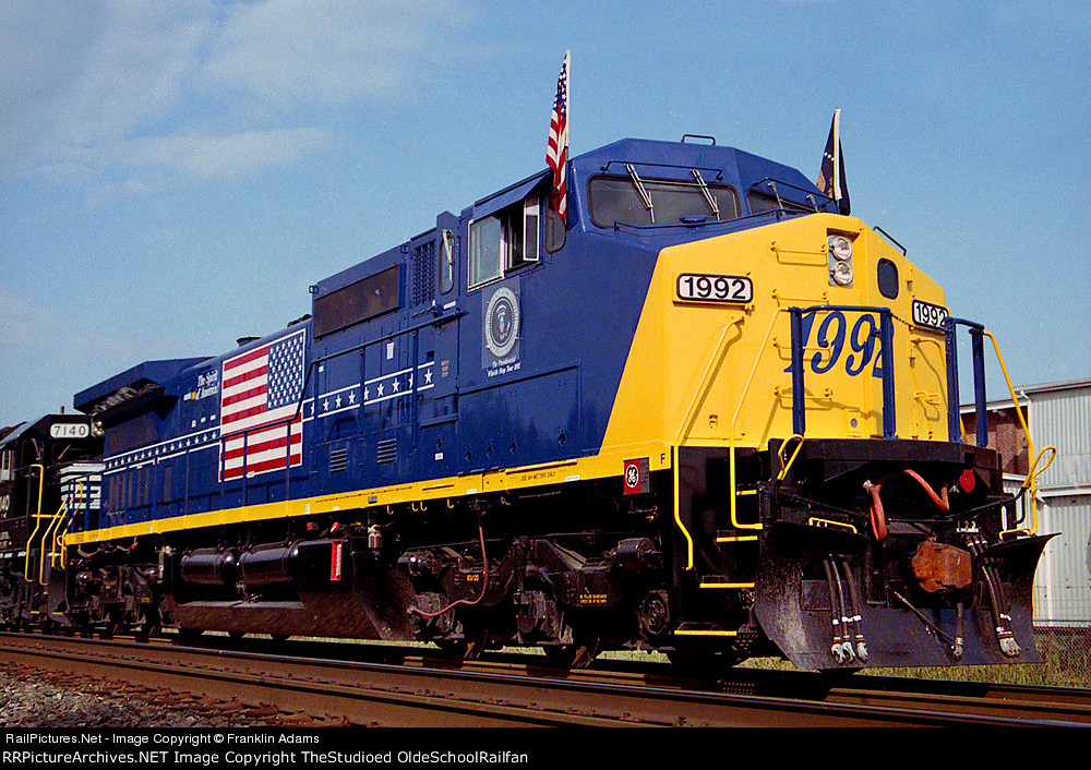 CSX 1992 (The Spirit Of America)