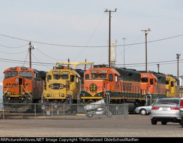 The Fleet of BNSF