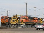 The Fleet of BNSF