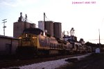 CSXT 7665 with unknown locomotives