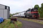Manville Job, H74 has Lease Locomotives Push/Pull @ 1139 hrs