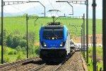 Freight trains from Gotthard Base Tunnel / Switzerland