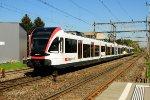 Local passenger train near Lucerne / Switzerland
