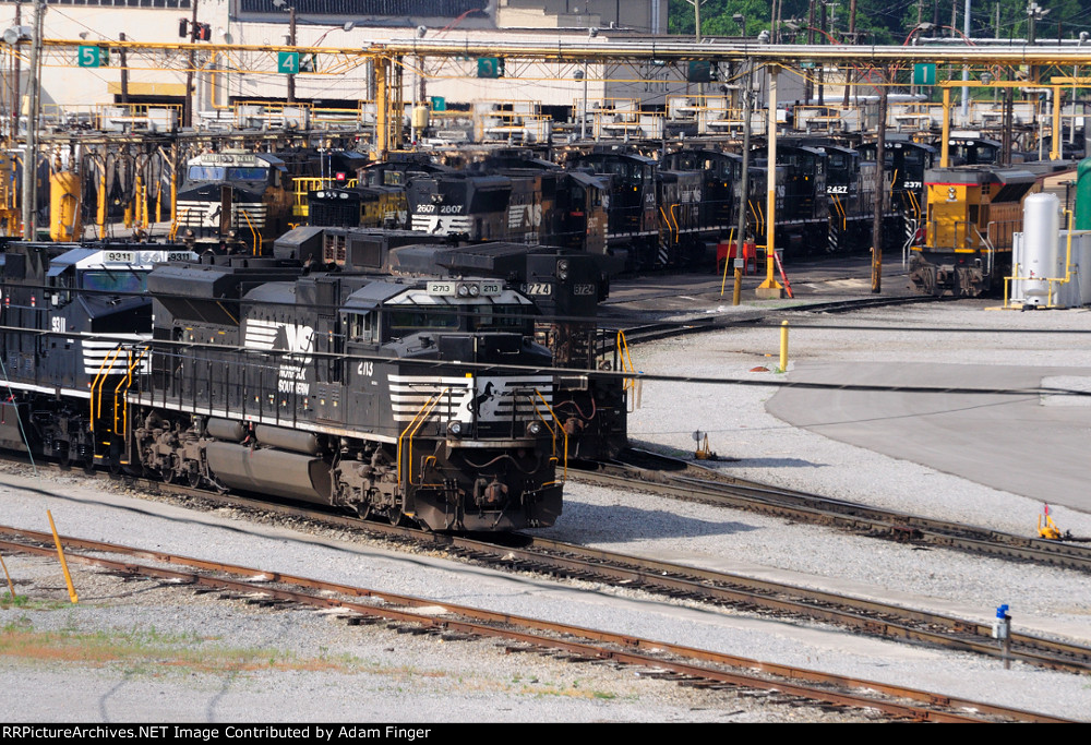 NS 2713 and other NS units
