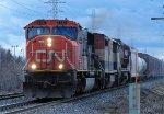 Eastbound CN Train