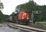 CN SD75I 5627 crosses Goodson Rd