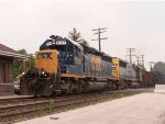 CSX hopper train