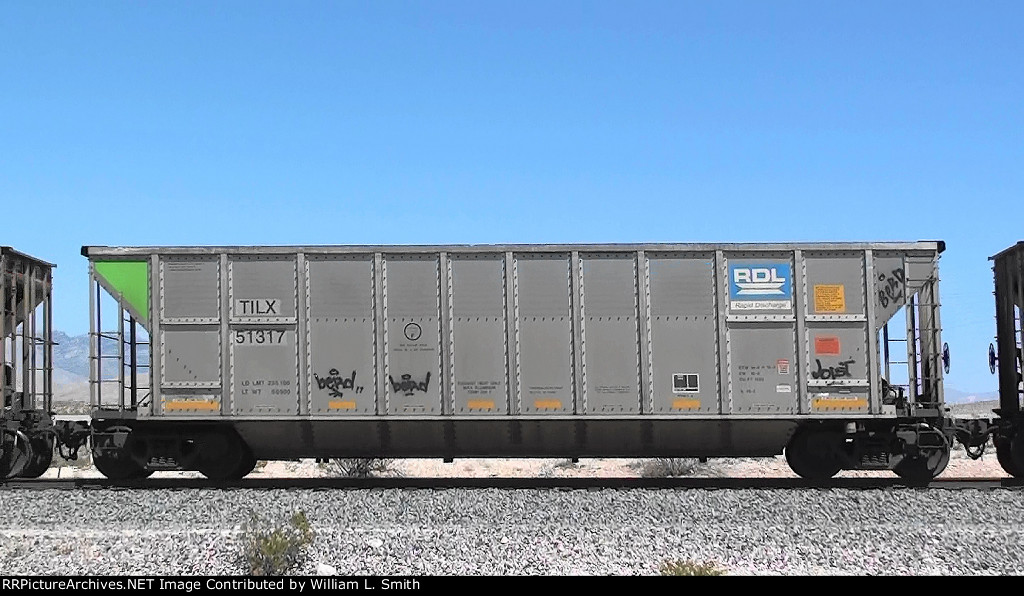 EB Empty Unit Cosl Frt at Erie NV -86