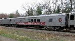 2017 Ringling Brothers Barnum & Bailey Circus Train RBBX #60012