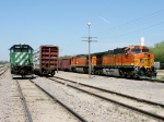 FURX 7282 and BNSF 4033