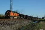 Loaded BNSF Rock Train
