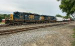 An ugly SD40-3 leads Q378 east