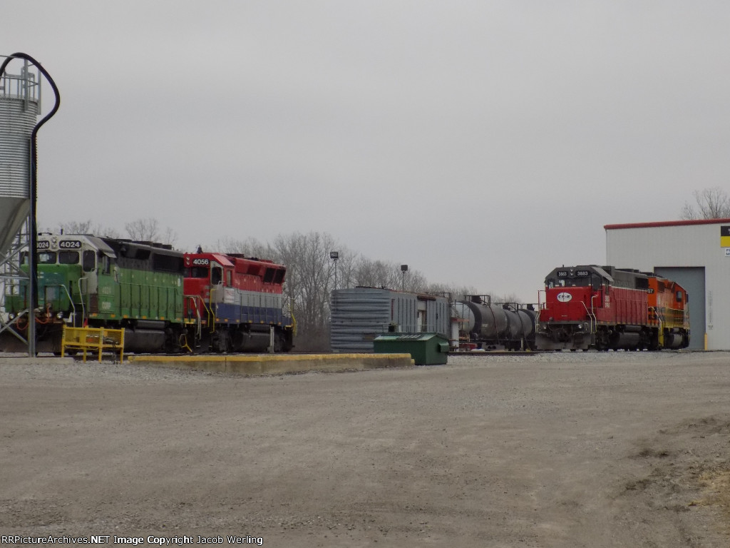 CFE 3883, CORP 4024, and TPW 4056