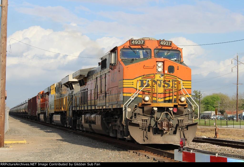 NB BNSF ethanol w/ CREX 2nd out
