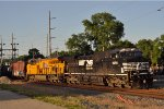 NS 9058 On NS 64 Q Eastbound